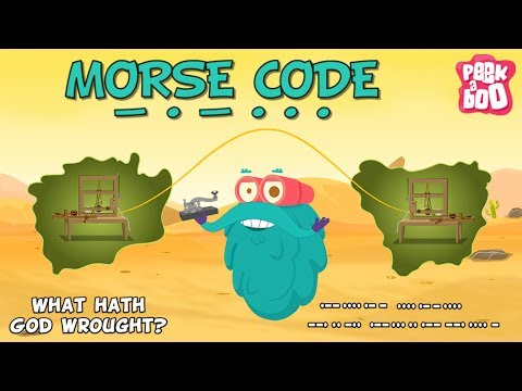 Invention Of Morse Code | The Dr. Binocs Show | Best Learning Video for Kids | Preschool Learning