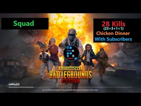"[Hindi] PUBG Mobile | ""23 Kills"" Awesome Chicken Dinner With Subs"