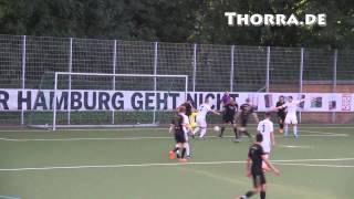 TSV Sasel – SC Condor (3. Runde, Pokal der 1. Herren 2015/2016) - Spielszenen | ELBKICK.TV