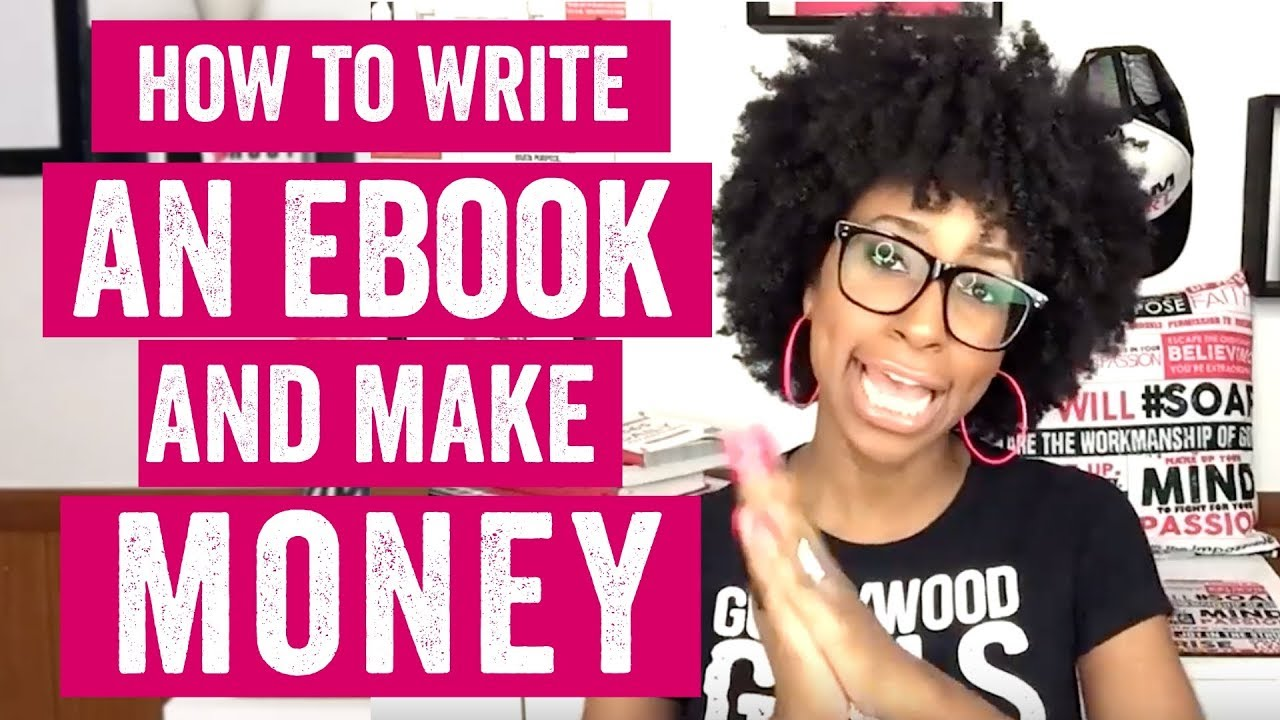 HOW TO WRITE AN EBOOK AND MAKE MONEY (How to Make Passive Income From  Ebooks)  HOW TO