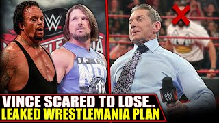 WWE LEAKED WrestleMania Plan! Vince McMahon SCARED, Star QUITS & Contract DISPUTE | Round Up