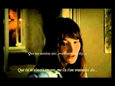 carla bruni quel un ma dit sub espa�ol y frances (with lyric)