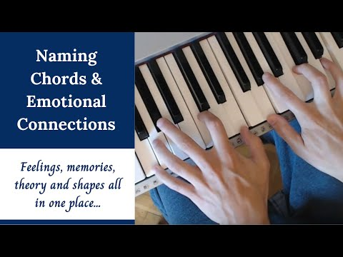 Naming Chords and Emotional Connections - Major, Minor, Diminished, Extensions, etc.