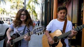 Download Lagu The Middle - Zedd, Maren Morris, Grey (Cover by Sophie Pecora and Mason Coutinho) Mp3