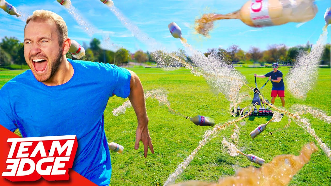 Download Coke and Mentos FIRING Squad!! *he got hit so hard😂*