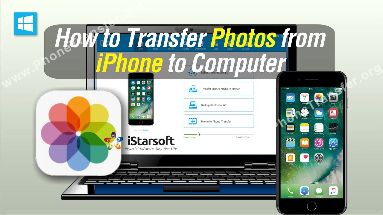 How to Transfer Photos from iPhone to Laptop (Dell, Sony ...