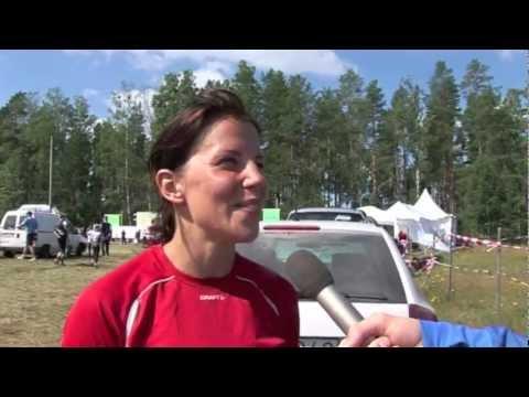 Charlotte Kalla springer O-Ringen