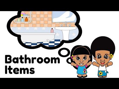 Learn Samoan Language - Bathroom Items