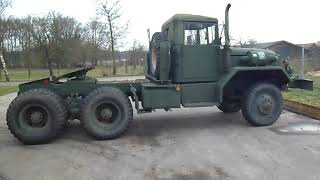 Reo M52a2, tractor truck, ex Vietnam.
