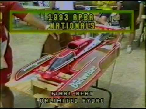 Miss Renault 1/8 Scale Unlimited Hydroplane wins 1993 APBA ...