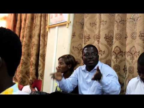 Grain de Sel Togo Inc:   Hermann et Prosper repondant aux questions des participants