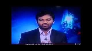 udaya news sheru pete Mahesh govianu 26 06 2014