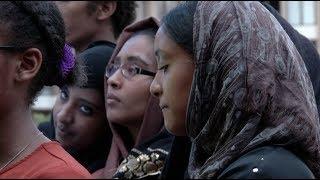 Scenes from Vigil for Murdered Teen Nabra Hassanen