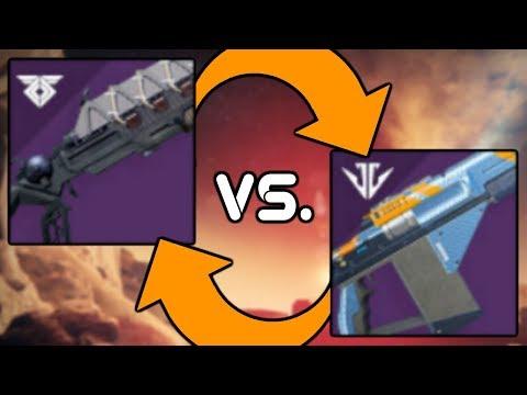 Destiny 2 - Loaded Question vs. Ikelos Shotgun Damage Comparison and DPS Test!! thumbnail