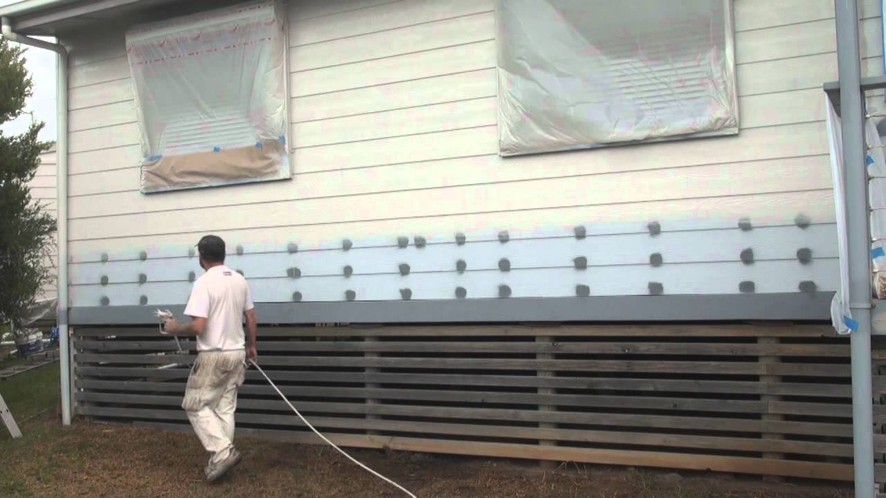paint sprayer how to spray paint walls using an airless paint. Black Bedroom Furniture Sets. Home Design Ideas