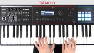 Playing Jazz Electric Piano (Switching the Effects) Roland JUNO-DS Quick Start #02