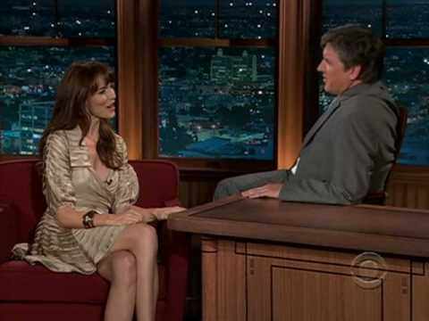 Saffron Burrows on Craig Ferguson 2008.10.28