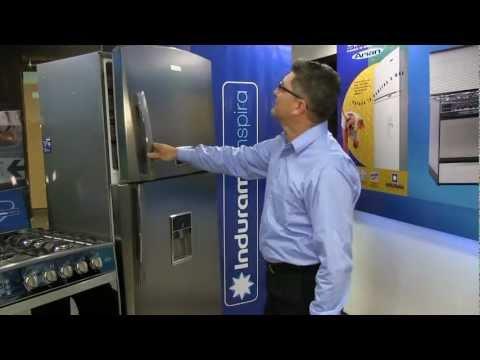 Entrega de refrigeradora RI-587 en Ecuador. Concurso Indurama Bioactivo