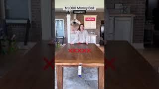 $1,000 money ball!!💰💰💰Round 1!