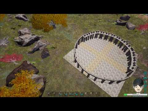 Ark Survival Evolved Creative Building - Roman Coliseum (Coliseum framework #2) - Stream #6