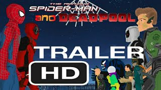 Удивительный Человек-Паук и Дэдпул /Финальный трейлер (Рисуем мультфильмы 2)