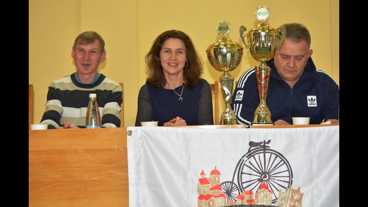 Чествование спортивной команды ООВ  «ВелоГродно» .