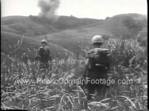 Vietnam War Bien Hoa Air Base and Operation Baker Newsreel  PublicDomainFootage.com