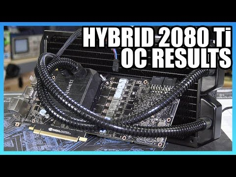 RTX 2080 Ti Hybrid Results & NVIDIA's Power Limitations