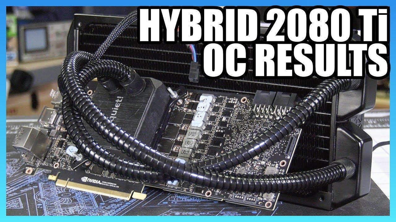 RTX 2080 Ti Hybrid Results & NVIDIA's Power Limitations