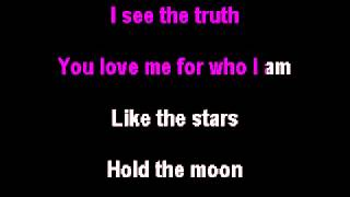 Miley Cyrus - When I Look At You Karaoke