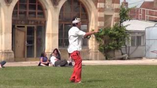 La fête du Cerf-Volant  au château d'Aisy-sous-Thil (21)