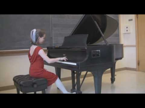 Seattle Young Artists Music Festival:  Delci plays