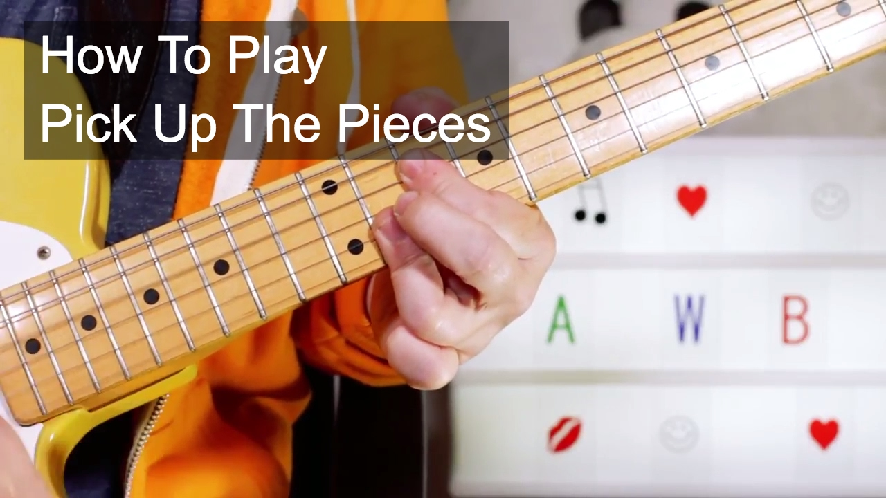 Pick Up The Pieces Average White Band Guitar Lesson Youtube