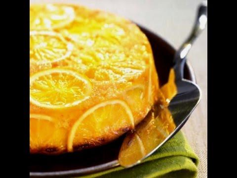 Вкусный пирог с апельсинами.
