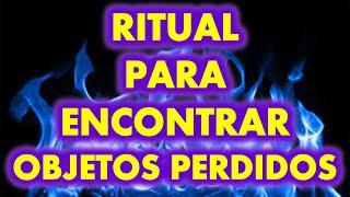RITUAL PARA ENCONTRAR OBJETOS PERDIDOS