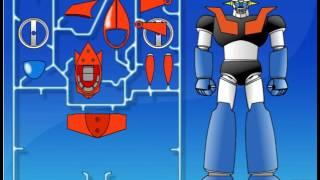 [ Review ] Game lắp ghép Robot của siêu nhân , diệt trừ cái ác  ≧^◡^≦
