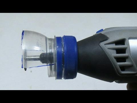 How To Make Safety Guard For DREMEL - DIY - Dremel için Güvenli Koruyucu Nasıl Yapılır?