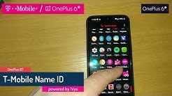 T-Mobile Name ID on the OnePlus 6T