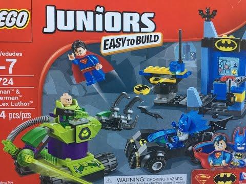 LEGO BATMAN & SUPERMAN VS LEX LUTHOR PT 1