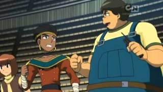 Beyblade Metal Masters Episode 18 The Scorching Hot Lion English Dubbed (Part 1/2)