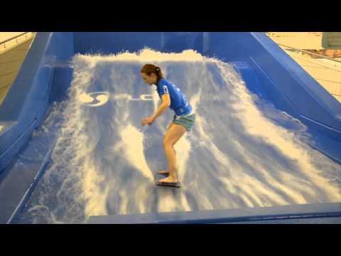New Flow Rider At AquaZone