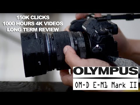150K Clicks, 1000 Hours of 4K videos later - Olympus OM-D EM-1 Mark II Long Term Review!