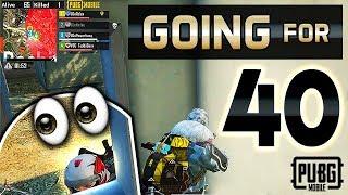 GOING FOR 40 KILLS | Rough Start! | PUBG Mobile