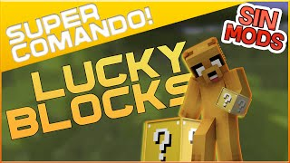LUCKY BLOCKS SIN MODS 1.8 - SÚPER COMANDO MINECRAFT #1