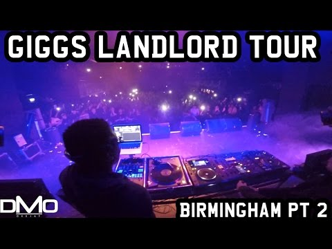ON TOUR IN BIRMINGHAM *GIGGS LANDLORD UK TOUR