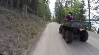 Riding ATV'S With the Wife & Kids @ Priest Lake Idaho