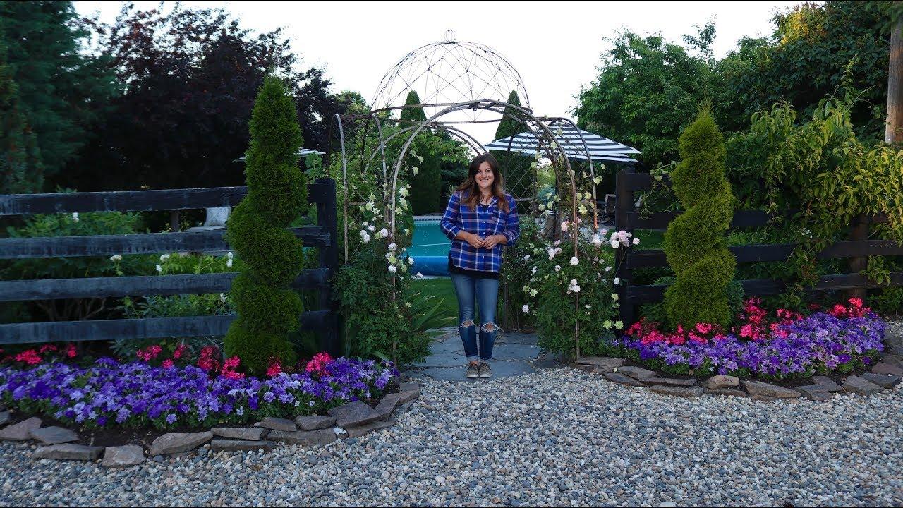 Tour Of My Parents Garden June 2019 Garden Answer Youtube