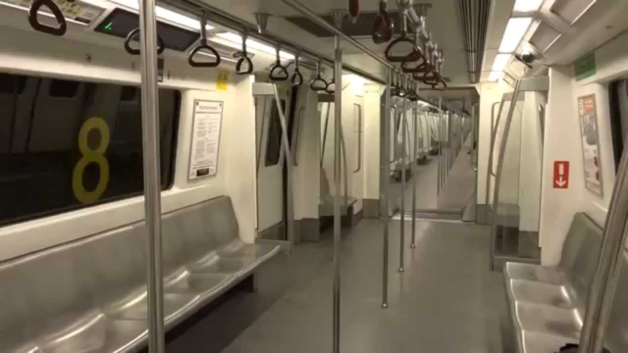 Neat Bright Sparkling Interiors of Delhi Metro Manufactured by