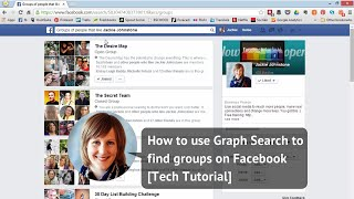 How to use Graph Search to find groups on Facebook [Tech Tutorial]