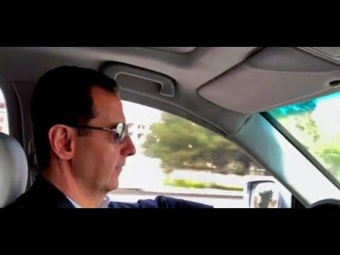 Trümmer-Tourist: Baschar al-Assad fährt nach Ost-Ghouta - und lässt sich dabei filmen